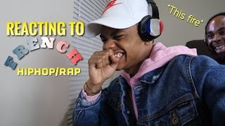 SUPER FIRE!!! REACTING TO FRENCH HIPHOP/RAP (FIRST REACTION)