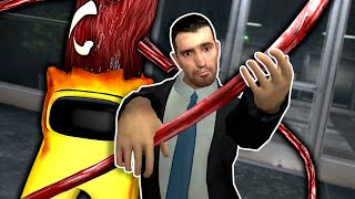 The Among Us IMPOSTER is After Me!  Garry's Mod Gameplay
