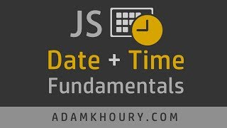 JavaScript Date Time Object Tutorial