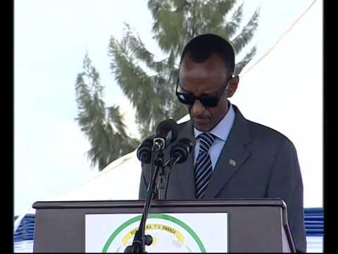 President Kagame during the pass out ceremony of Rwanda National Police Cadets- 17 March 2014