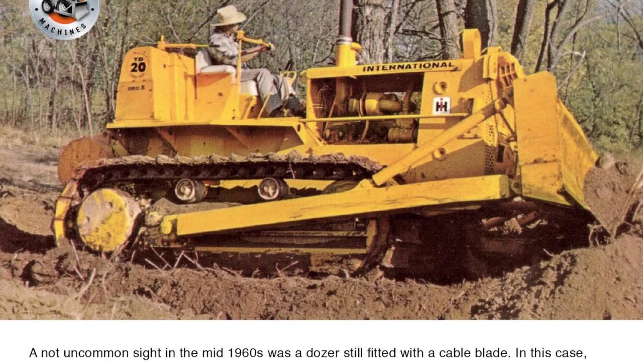 Classic earthmovers: International's TD-20 tractor