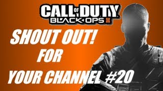 Shout out for your channel #20 (BO2 Dom on Hydro)