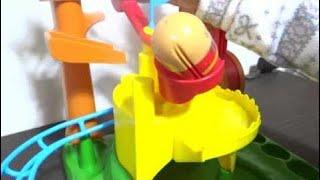 アンパンマンおもちゃコロロンパーク のぼってジャンプだアスレチック!Anpanman Athletic toy   72 thumbnail