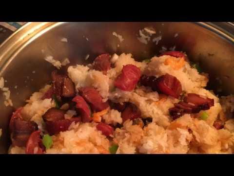 臘味糯米飯(广东家庭小菜)