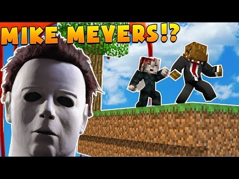 HELP SAVE ME FROM MIKE MEYERS  Minecraft  Mod Battle MIKE MYERS