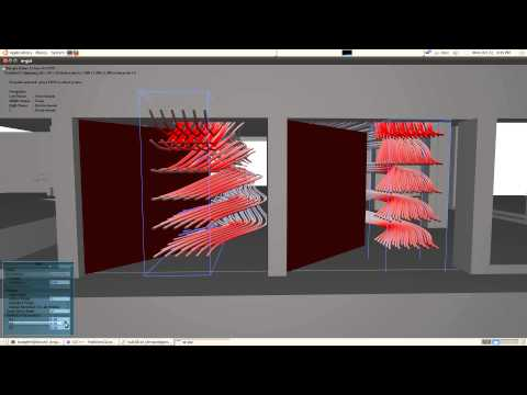 Parametrized Flow  Simulation in Complex Geometry