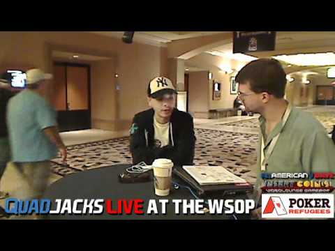 Chino Rheem on debts, Epic Poker and One Drop QuadJacks Live at the WSOP June 18, 2012