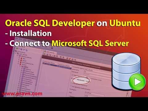 en] Ubuntu: Oracle SQL Developer connect to Microsoft SQL