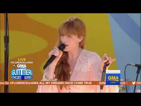 Florence + the Machine - Hunger (Live at GMA - Summer Concert Series 2018)