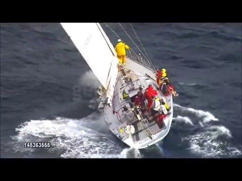 Kayle 2009 Sydney to Hobart archived footage