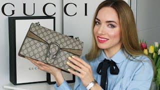 ЧТО В МОЕЙ СУМКЕ 2017? + Обзор Gucci Dyonisus || Katrin from Berlin