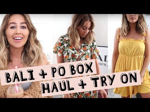 BALI HAUL & BLOGGERMAIL | sophie milner // fashion slave