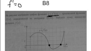 Онлайн урок по математике  Решение В8