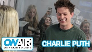 charlie puth performs attention live on air with ryan seacrest
