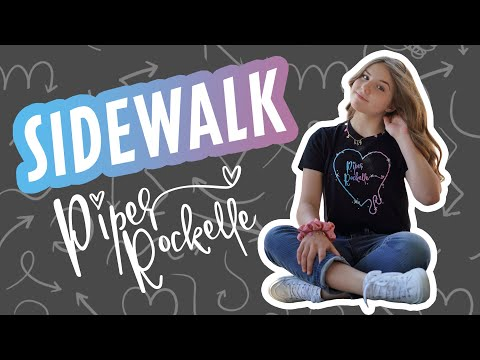 Piper Rockelle - Sidewalk (Official Music Video) **FIRST LOVE**💕