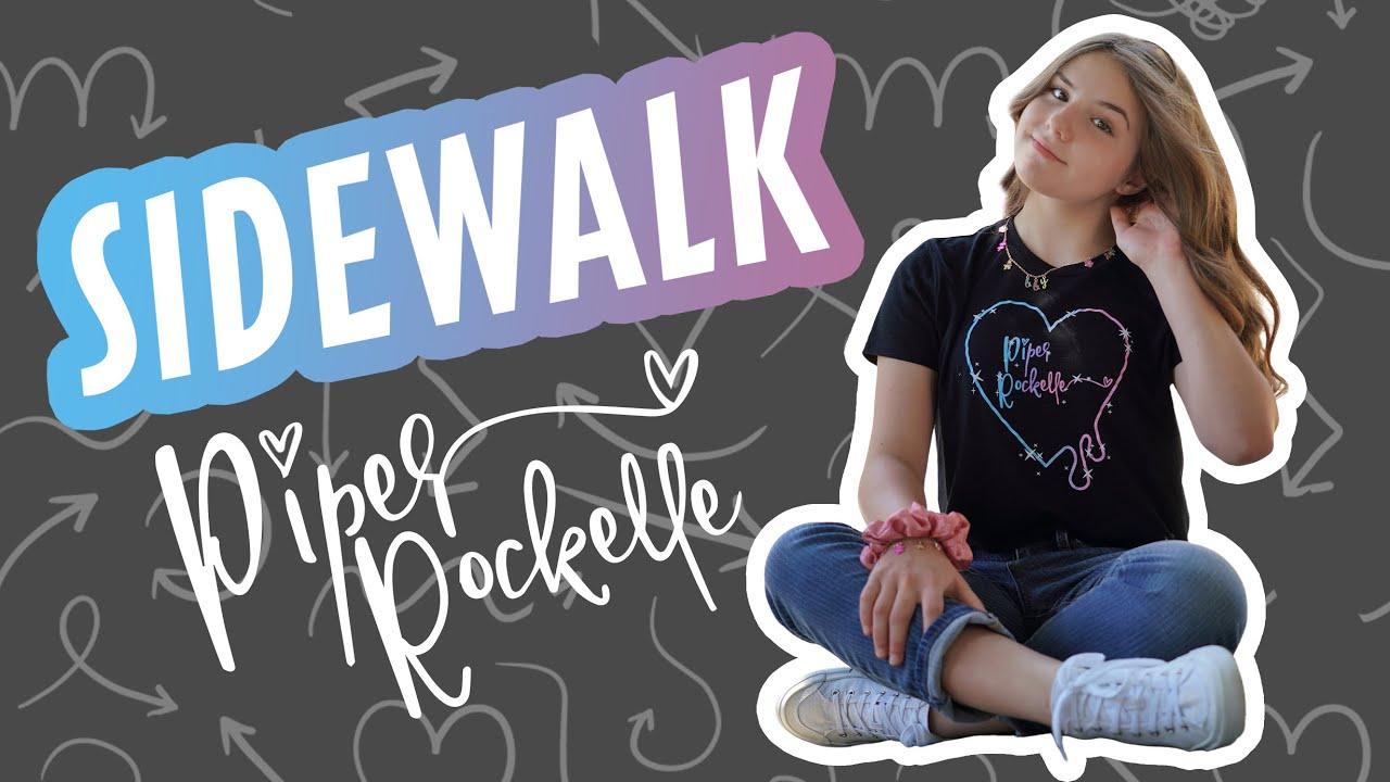 Piper Rockelle - Sidewalk (Official Music Video) **FIRST LOVE**?