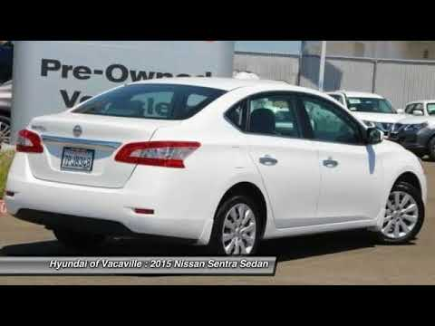 2015 Nissan Sentra for sale in Vacaville, CA; Hyundai of Vacaville