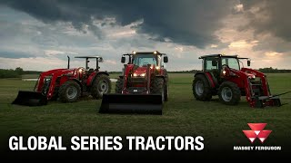 4700, 5700, 6700 Global Series Tractors from Massey Ferguson