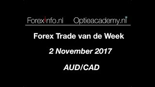 Forex Trade van de Week 2 November 2017
