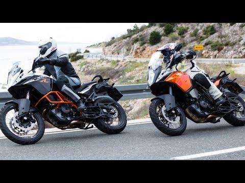 Vergleichstest | KTM 1190 Adventure vs Adventure R | 2013