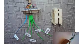 Видеоуроки по Микроконтроллерам AVR  5 Прошиваем микроконтроллер через LPT порт