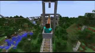 The biggest R.Coaster on Minecraft
