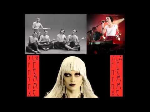 "La Femme (""Mystère"", ""Psycho Tropical Berlin"") : ""Sphynx"" + ""Télégraphe"" live à la radio (2016)."