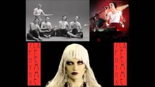 """La Femme (""""Psycho Tropical Berlin"""") : """"Sphynx"""" + """"Télégraphe"""" live officiel à la radio (mars 2016)."""