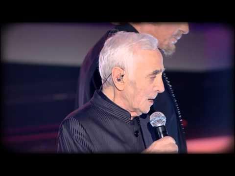 """Charles Aznavour & Johnny Hallyday - """"Sur ma vie"""" - Fête de la Chanson Française 2013"""