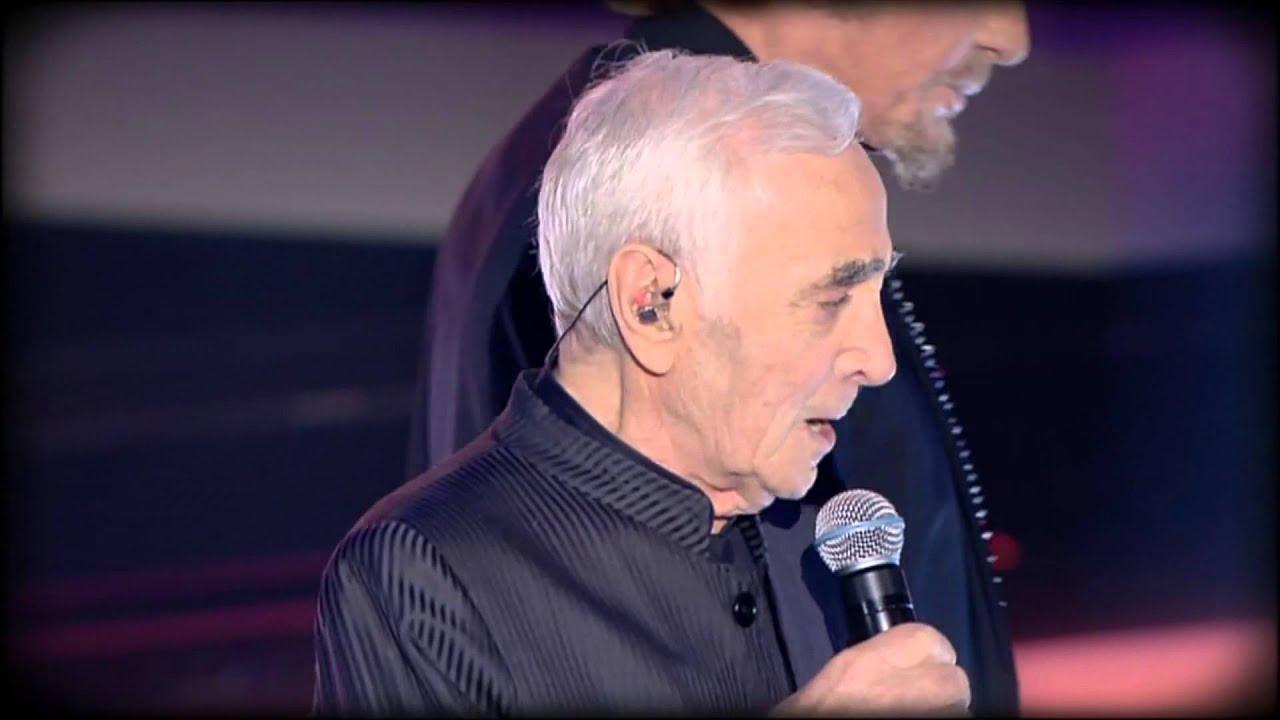 Charles Aznavour & Johnny Hallyday