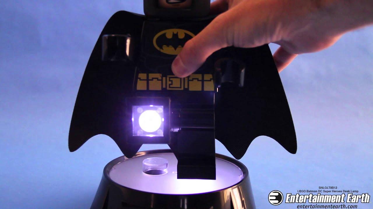 Lego Batman Dc Super Heroes Desk Lamp Youtube