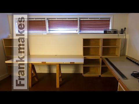 Office 2:  Repurposing the shelves