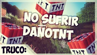 Truco - No sufrir Daño por la TNT - 1.8 Minecraft