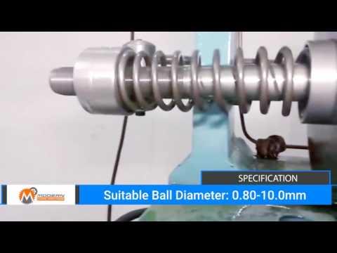 Modern Chain Machine| Hollow Balls And Balls Para Making Machine