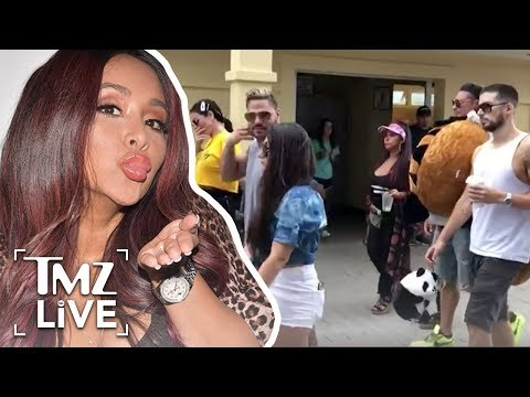 Snooki Quiting &39;Jersey Shore&39; Was Becuase Of Angelina  TMZ