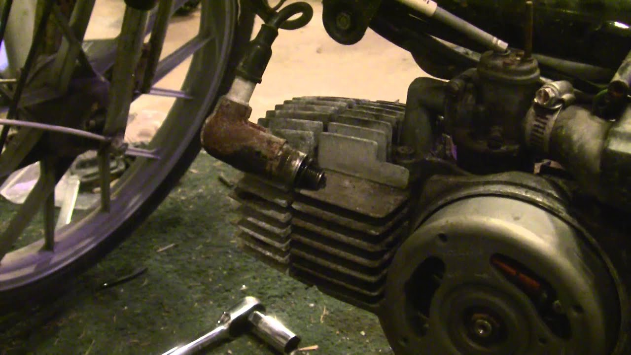 How to get an Old Moped Running/First Things to Check (Compression & Spark  Tests, Troubleshooting)
