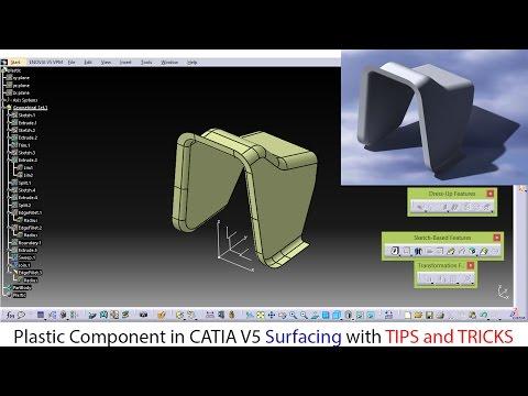 CATIA V5 SURFACE MODELLING TUTORIAL PDF