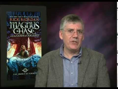 The Sword of Summer author Rick Riordan Talks Magnus Chase, Norse Mythology, ADHD/Dyslexia Awareness