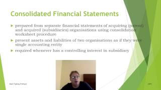 consolidation introduction for acca f7 p2 and ipsas cert part 1