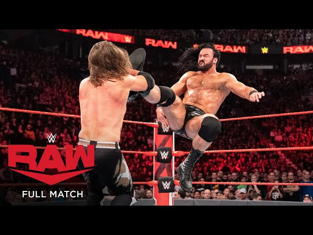 FULL MATCH - Reigns, Rollins & Styles vs. McIntyre, Corbin & Lashley: Raw, April 15, 2019