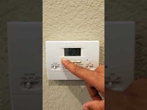 Toptech Thermostats Wireless Humidity Controls Programmable