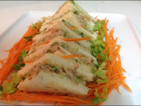 Refreshing Tuna Sandwiches