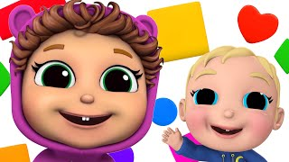 Learn Shapes and Colors | Baby Joy Joy on Clap Clap Baby