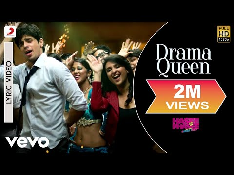 drama-queen-lyric---hasee-toh-phasee-|-parineeti,-sidharth