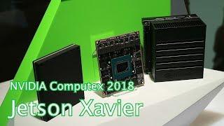 видео Jetson Xavier: мозг для роботов с ИИ от NVIDIA