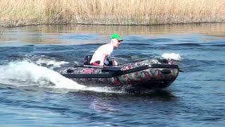 Vulkan TMK320 камо - фирменная моторная лодка