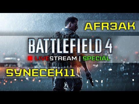 Livestream #03 [Záznam] ♦ Karaoke ♦ Battlefield 4 ♦ Otázky ► synecek11 & AFr3aK