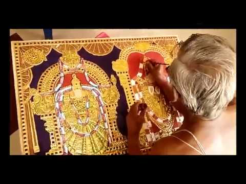 Tanjore Painting Making Video