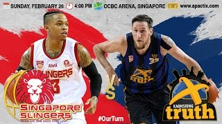 Singapore Slingers vs. Kaohsiung Truth | LIVESTREAM | 2016-2017 ASEAN Basketball League