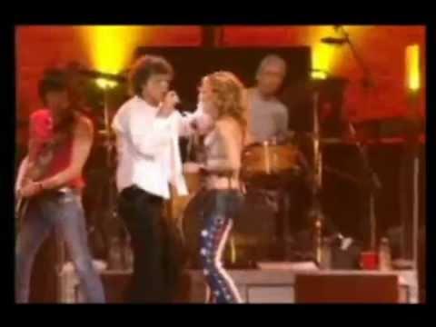 The Rolling Stones with Sheryl Crow - Honky Tonk Woman (+lyrics)
